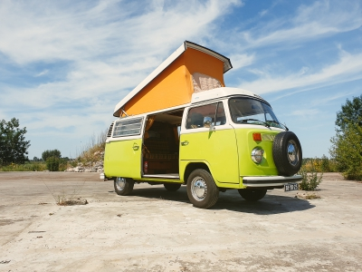 Volkswagencamper Mr. Lime